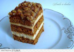 Orzechowiec Ciasto miodowe 550 g mąki tortowej 2 całe… na Stylowi.pl