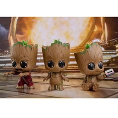 3 Toys Guardians of the Galaxy Vol 2 Baby Groot Cosbaby Bobble Head Toy Gifts UK Cute Disney Drawings, Art Drawings For Kids, Cute Drawings, Wallpaper Iphone Disney, Cute Disney Wallpaper, Cute Cartoon Wallpapers, Baby Groot Drawing, Groot Avengers, Easter Bunny Colouring