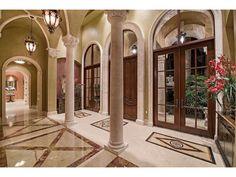 Grand Foyer Columns Bay Colony Golf Estates - Naples