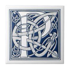Celtic P Monogram