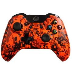 Custom Xbox One Controller Special Edition Orange Urban Controller, 2015 Amazon Top Rated Controllers #VideoGames