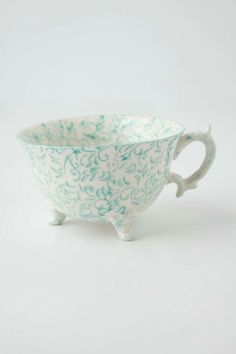 Tea cup at Anthropologie.