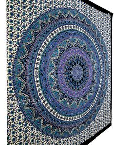 Star Tapestry Hippie Mandala Tapestry Wall Hanging by Sparshh
