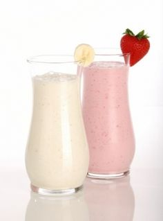 Vitamina com sorvete