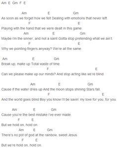 Justin Bieber Baby Lyrics Chords Guitar idea gallery