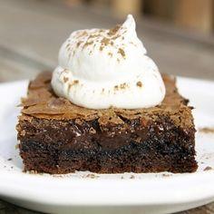 Nutella Gooey Butter Cake
