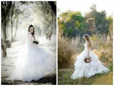Vestido de noiva - Wedding Dress - Casamento no campo - floresta - noiva - bride - casamento - wedding - inesquecível casamento - saia volumosa