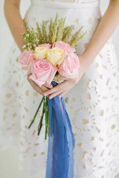 a posy bouquet by Moki Gray Editorial, Bouquet, Christian, Crown, Gray, Flowers, Jewelry, Fashion, Moda