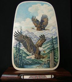 Matt Stothart art on mammoth ivory