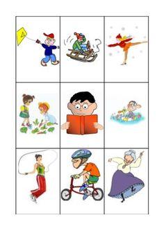Pomůcka je určena pro žáky na konci prvního ročníku a pro druháčky.   Úkol je velmi jedoduchý.Ke každému obrázku je třeba správně přiřadit 3...