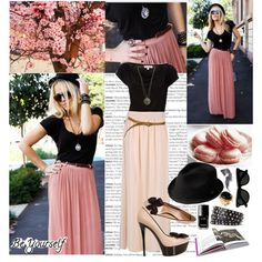 Be yourself., created by vikkk on Polyvore