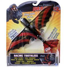 Jak vycvičit draka - Létající Bezzubka, kluzák. Draka lze snadno uchopit do ruky a když ho hodíte do výšky, může doletet až 15 metrů daleko. Můžete Bezzubce nastavit ocas do různé polohy a ona pak bude ve vzduchu předvádět různé akrobatické kousky.