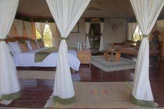 bedroom at Kipilikwani mara Campsite