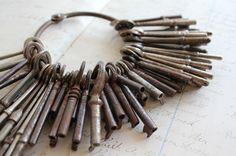 Skeleton keys.