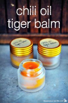 Homemade Chili Oil Tiger Balm Recipe