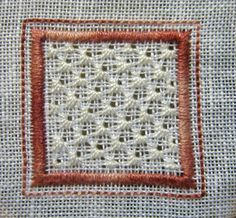 Whitework Embroidery - Leaf Stitch