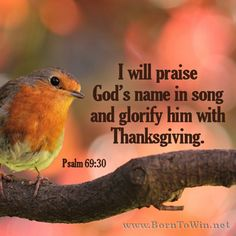 I will praise God's name in song and glorify him with thanksgiving. Biblical Quotes, Bible Verses Quotes, Praise God Quotes, Scripture Images, Prayer Scriptures, Healing Scriptures, Healing Quotes, God Jesus, Jesus Christ