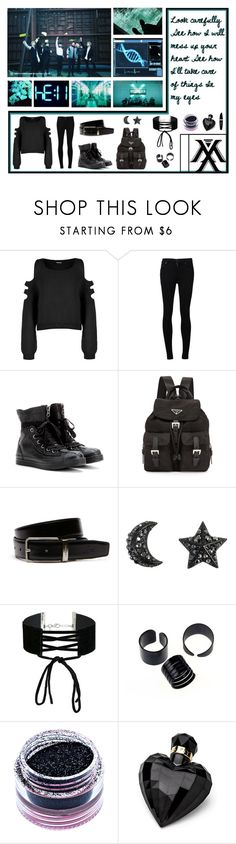 """""""Excuse My Charisma ~ {BOTBB Round 1} ~"""" by bulletproof-girl-scout ❤ liked on Polyvore featuring WearAll, Citizens of Humanity, Converse, Prada, Lacoste, Miss Selfridge, Medusa's Makeup, Lipsy, Max Factor and monstax"""