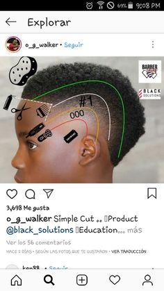 Boy Haircuts Short, Barber Haircuts, Boy Hairstyles, Haircuts For Men, Black Hair Cuts, Hair Color And Cut, New Beard Style, Hair And Beard Styles, Hair Clipper Sizes