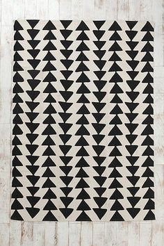 triangle rug by Urban Outfitters