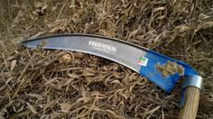Falci 187 Ditch Blade, with stone-point Appropriate Technology, Farming, Blade, Stone, Homesteading, Garden, How To Make, Gadgets, Tools