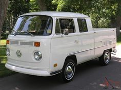 1970 VW Double Cab Pickup Truck - Unrestored - Never, ever rusty-Impossibly Rare