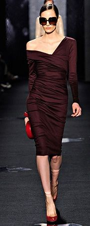 dark red dress perfect for business meeting party