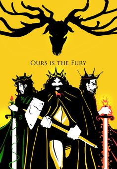 House Baratheon - Ours Is The Fury #agot #got #asoiaf