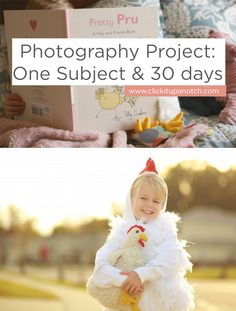 Improve your photography by tackling this photography project!