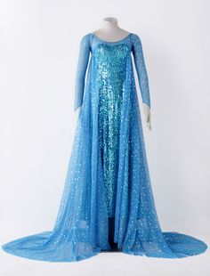 Blue Frozen Beaded Cosplay Costume for Women Halloween Elsa Halloween Costume, Couple Halloween Costumes For Adults, Costumes For Women, Women Halloween, Woman Costumes, Vestido Elsa Frozen, Frozen Elsa Dress, Adult Disney Costumes, Frozen Costume Adult