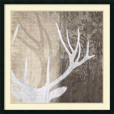 Found it at Wayfair - 'Deer Lodge II' by Tandi Venter Framed Painting Print