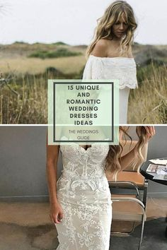 Unique and Romantic Wedding-Dresses Ideas #weddingideas