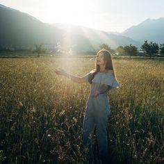 cornfield / kornfeld #cornfield #kornfeld #green #natur #nature #olympus #lightroom #sun #sunset #sonne #sonnenuntergang #instagood #green #himmel #sky #flight #fliegen