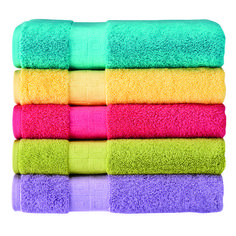 How to Refresh Towels: Wash on hot cycle using 1C Vinegar and 3T Lemon Juice. Wash a 2nd time using 1C Baking Soda. Dry in dryer (do NOT use soaps or softeners).