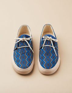 YMC Navajo Shoe (royal)