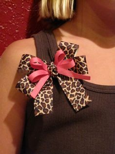 I would make it a hair bow!!