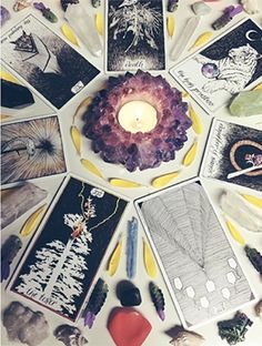 Really love some of the art found on tarot cards