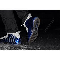 #Blue \u0026 #Grey #Nike #Foamposite