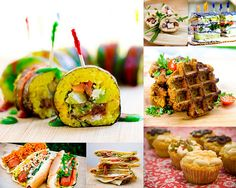 Vegan party food! Need to throw a vegan dinner party soon!