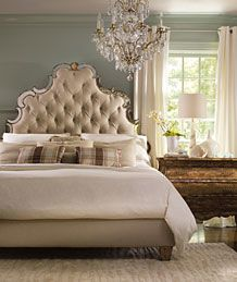 Hooker Furniture Bedroom, seriously thinking about this bed...crazy?