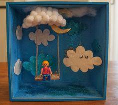 by moon & wood cloud swing !