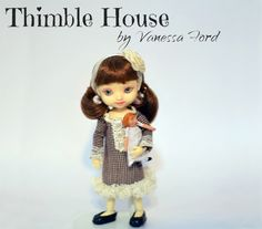 Amelia Thimble Dress: Brownie Points