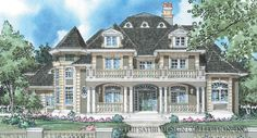 Bellamy Home Plan | Sater Design Collection | Luxury House Plans