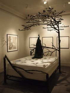 Tree Canopy Bed - NOLA Museum of Art; Art in Bloom