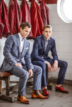 Boots & Suits Men's Fashion, chelsea oxford no socks