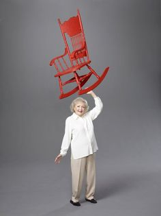 Betty White in Betty White - Off Their Rockers This gals been working on TV without a break since 1949 - as they say...Bless her heart!