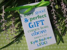 Every Good & Perfect GIFT Baby Boy Baptism Christening First Holy Communion Wildflowers or Sunflowers Flower Seeds Packets Party Favors CIJ. $21.00, via Etsy.