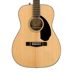 Fender CC-60S Acoustic Guitar - Natural with Case