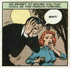 this isn't happiness™ - photo caption contains external link retro vintage comic book pop art illustration Comics Vintage, Vintage Cartoons, Old Comics, Comics Girls, Funny Comics, Comic Books Art, Comic Art, Vintage Pop Art, Retro Vintage