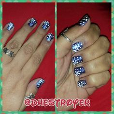 One more try Lol.....#holiday#shortnails#snowflakes#snow#glitter#shimmer#purple#white#dots#art#myart#mypaint#mylife#myworld#ilovewhatido#naillife#chinaglaze#wantmybawdy#orley#whitetips#sinfulcolors#topmeoff#letitsnow#iwishitwould